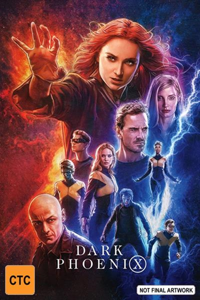 X-Men: Dark Phoenix on DVD image