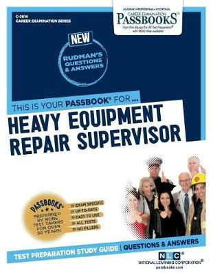 Heavy Equipment Repair Supervisor by National Learning Corporation image