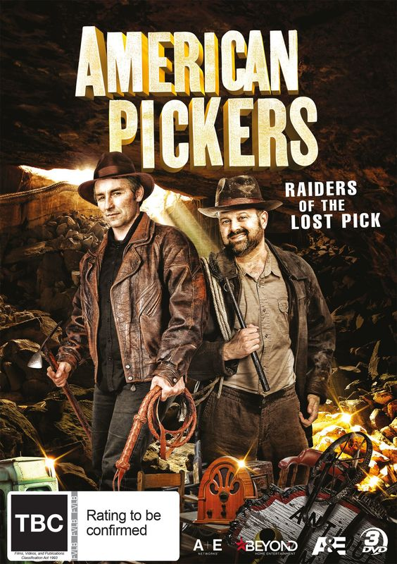 American Pickers - Raiders Of The Lost Pick on DVD