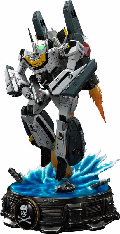"Robotech: VF-1S Skull Leader (Battloid Mode) - 26"" Premium Statue"