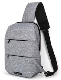 Fitkicks: Latitude Sling Bag - Grey image