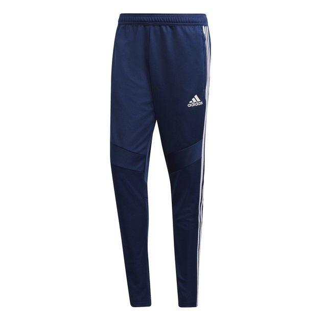 Adidas: Tiro Training Pants - Dark Blue/White (Medium)