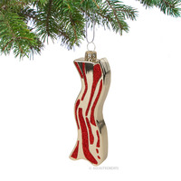 Sparkling Bacon Ornament