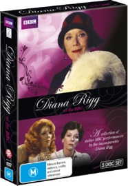 Diana Rigg at the BBC on DVD
