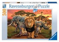 Ravensburger 500 Piece Jigsaw Puzzle - African Splendor