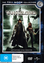Van Helsing - Single Disc Edition on DVD image