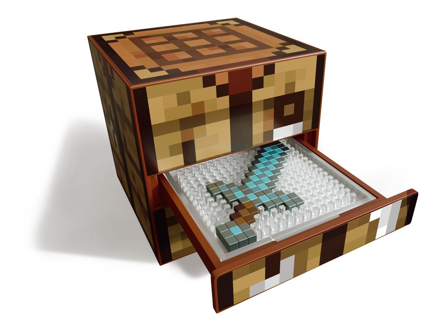 minecraft crafting table playset toy at mighty ape nz