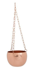 General Eclectic Hanging Planter - Copper