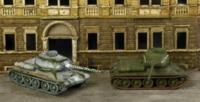 Italeri: 1/72 T-34/85 Russian Tank - Fast Assembly Kit image
