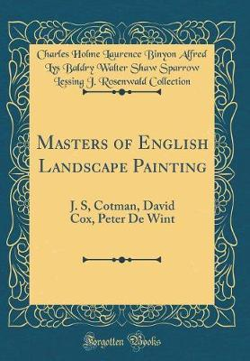 Masters of English Landscape Painting by Charles Holme Laurence Binyo Collection image