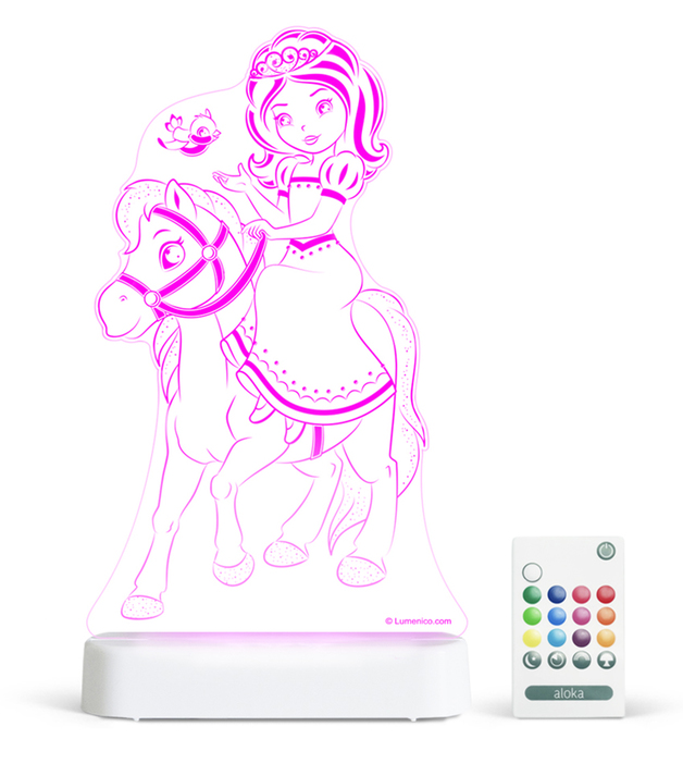 Aloka: Night Light - Princess & Pony