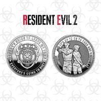 Resident Evil 2: Collectable Coin - Raccoon Police (Silver Edition)