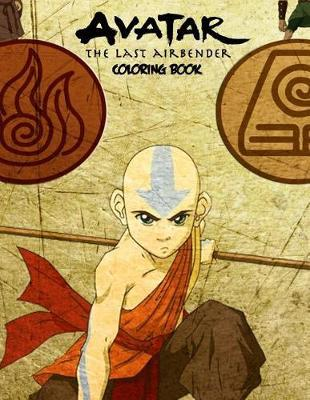 Avatar the Last Airbender Coloring Book by Rose Sapana