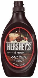 Hershey's Chocolate Syrup Genuine Chocolate Flavour 680g image