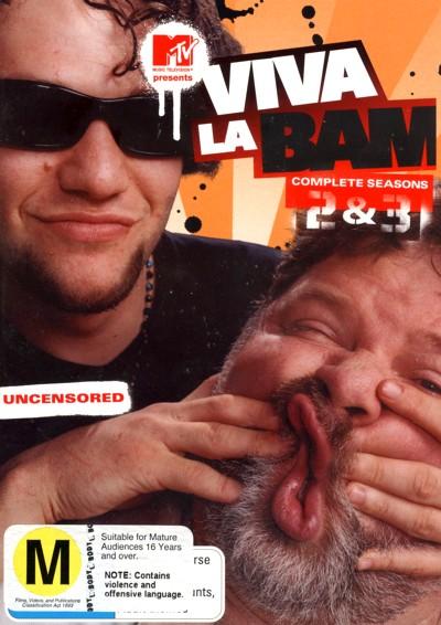 Viva La Bam - Complete Season 2 And 3 (3 Disc Set) on DVD image
