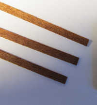 Billing Boats Mahogany Wood Strips 0.7x3x550mm (50x) image