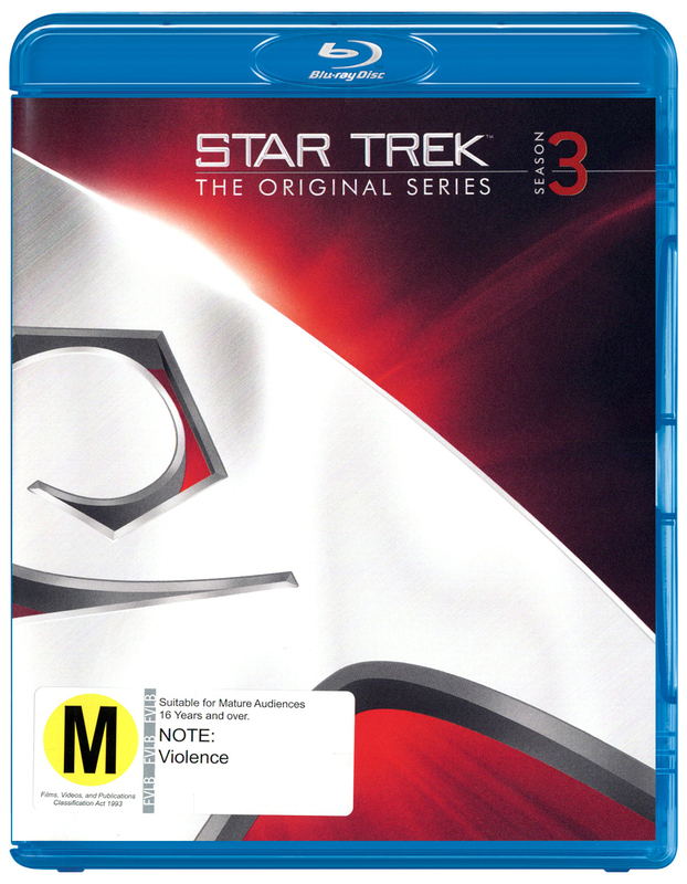 Star Trek The Original Series - The Complete Third Season Remastered on Blu-ray