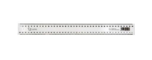 Taurus 40cm Ruler Clear