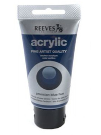 75ml Reeves Fine Acrylic - Russian Blue Hue