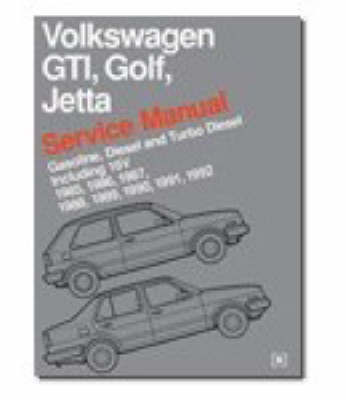 Volkswagen GTI, Golf and Jetta Service Manual 1985-92