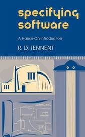 Specifying Software by R.D. Tennent