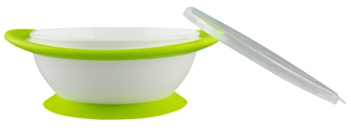 NUK: No-mess Suction Bowls with Lids image