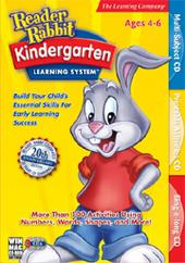 Reader Rabbit Kindergarten Learning System for PC Games