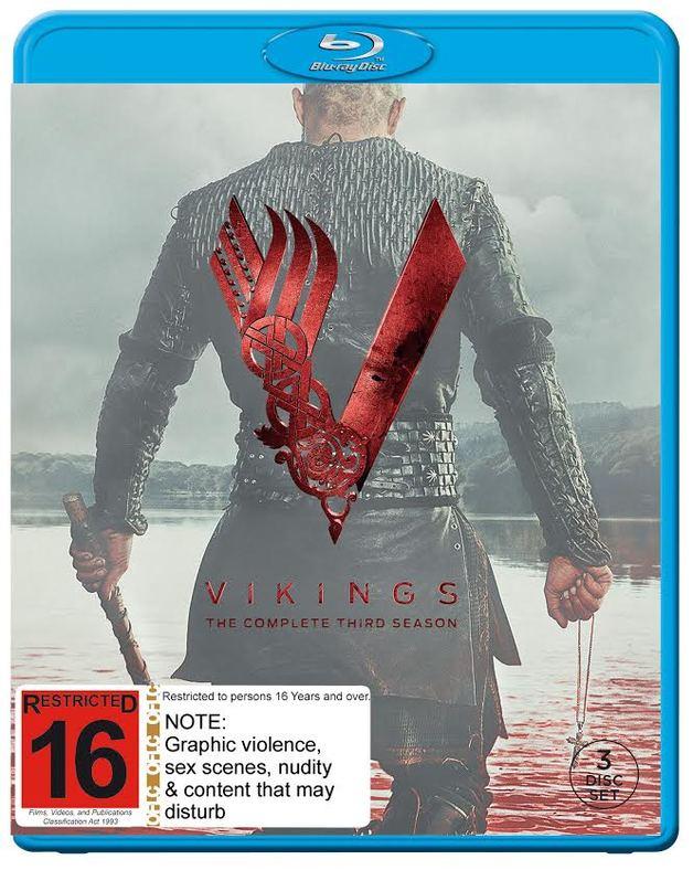 Vikings - The Complete Third Season on Blu-ray