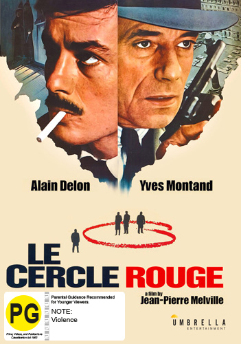 Le Cercle Rouge on DVD image