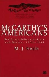 McCarthy's Americans by M.J. Heale image
