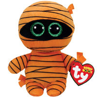 Ty Beanie Boo's: Mummy Orange - Small Plush
