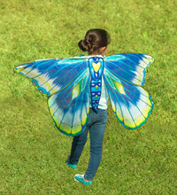 Hearth Song: Fantasy Butterfly Wings - Blue/Green