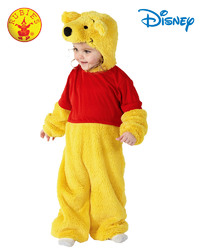Winnie The Pooh Furry Costume - Size Toddler