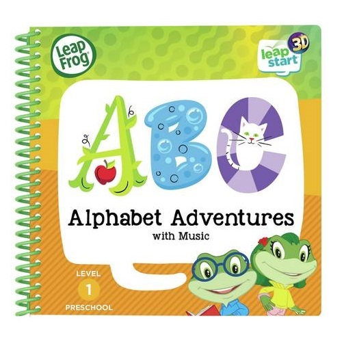 Leapfrog: Leapstart 3D Book - Alphabet Adventures with Music