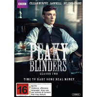 Peaky Blinders Season 2 on DVD