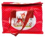 Heidi: Woodland Creatures Polka Dot - Lunch Bag