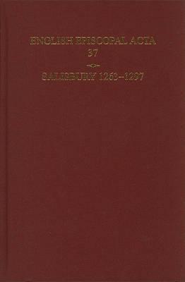 English Episcopal Acta 37, Salisbury 1263-1297 image