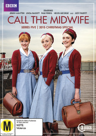 Call The Midwife - Series Five + 2015 Christmas Special on DVD image
