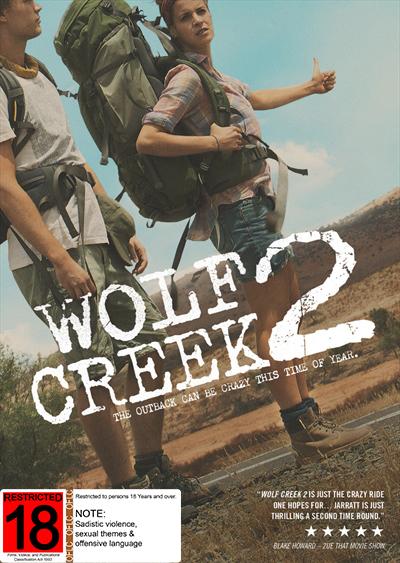 Wolf Creek 2 on DVD