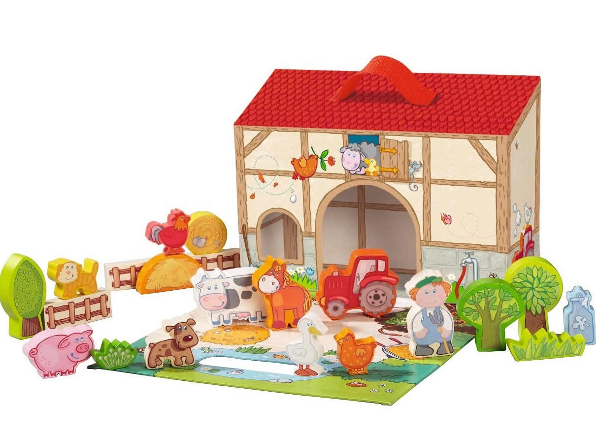 Haba: On the Farm - Large Play Set image