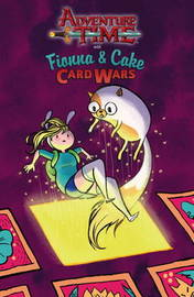 Adventure Time: Fionna & Cake Card Wars by Jen Wang