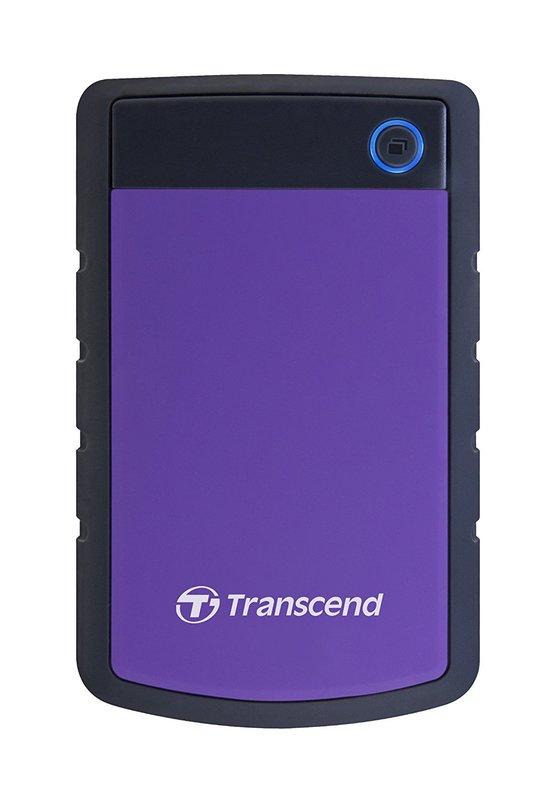 Transcend: StoreJet 25H3 2TB External Hard Disk - Purple