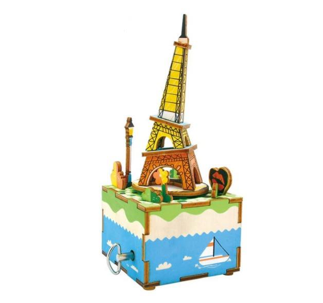 Robotime: Romantic Eiffel