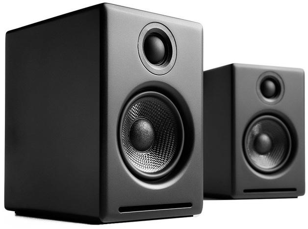 Audioengine: 2+ Powered Desktop Speakers (Pair) - Satin Black