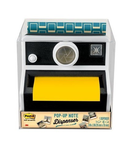 Post-it Pop-up Dispenser - Vintage Camera