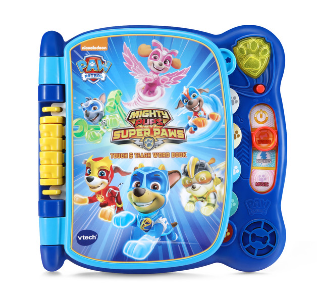 Vtech: Paw Patrol - Mighty Pups Touch & Teach Word Book