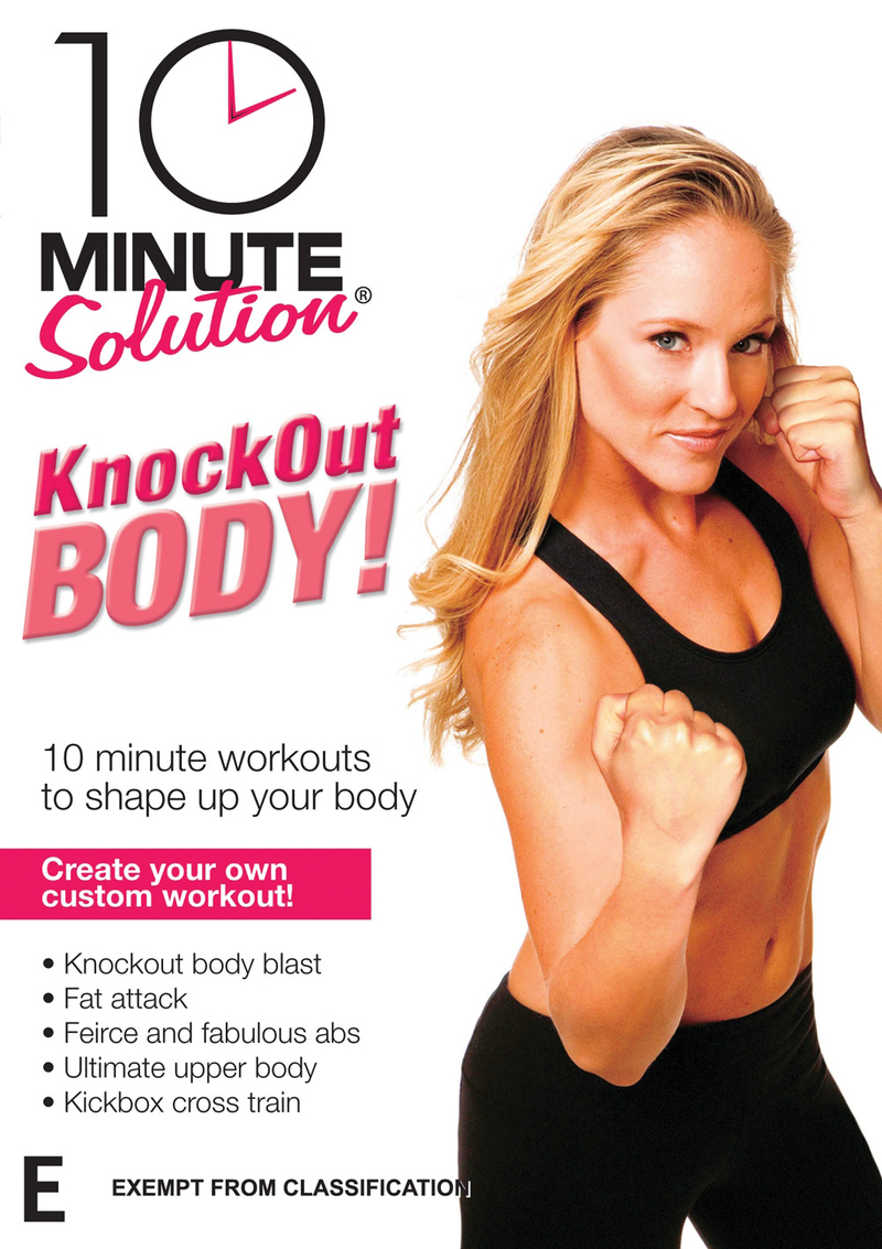 10 Minute Solution: Knockout Body Workout on DVD image