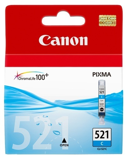 Canon Ink Cartridge - CLI521C (Cyan)
