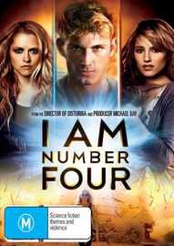 I Am Number Four DVD image
