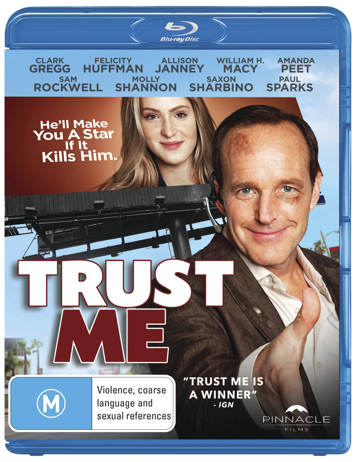 Trust Me on Blu-ray image